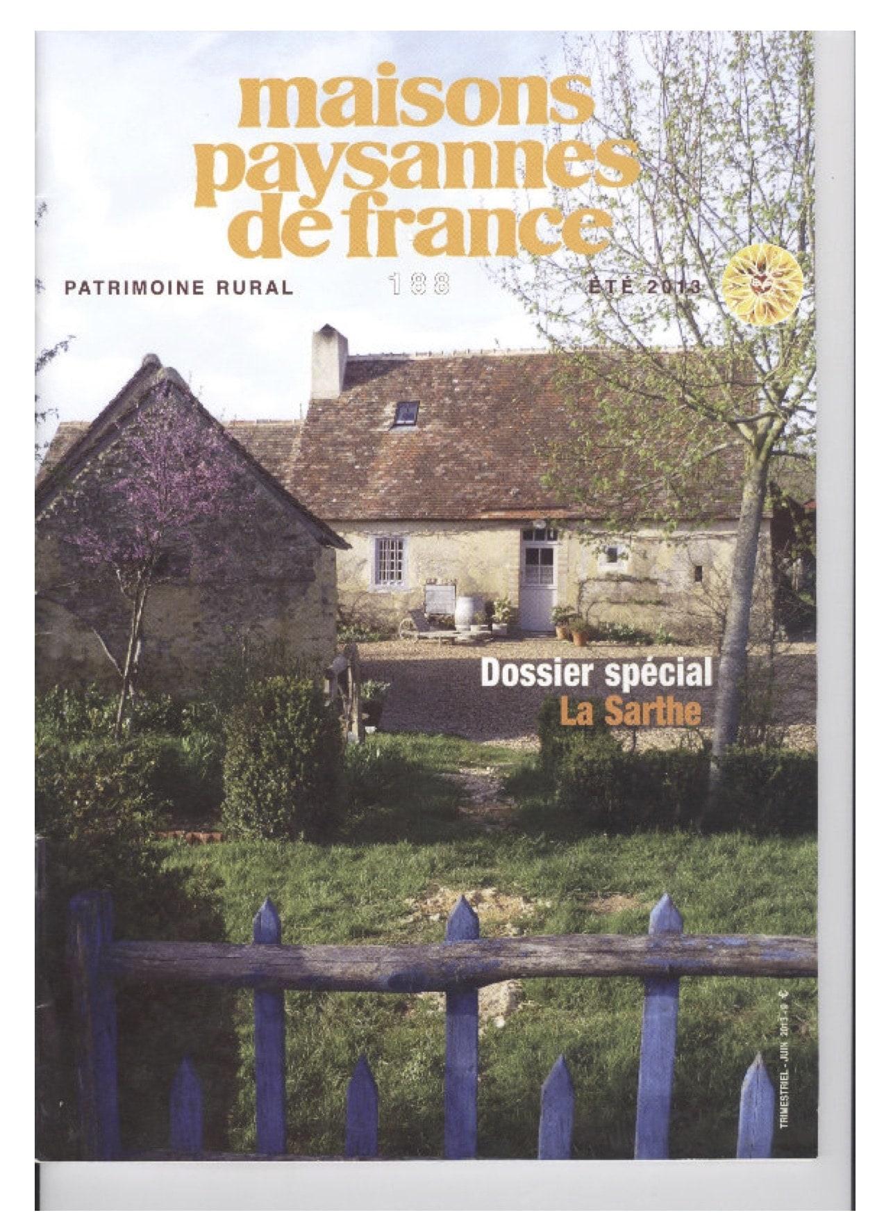 Maison paysannes de France